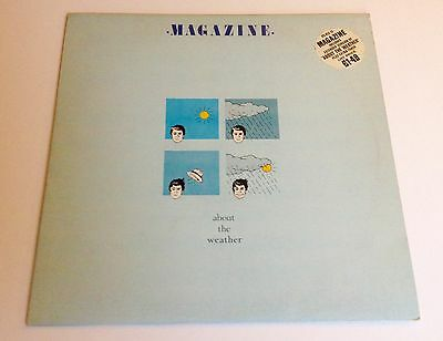 """Magazine About The Weather 12"""" Single"""