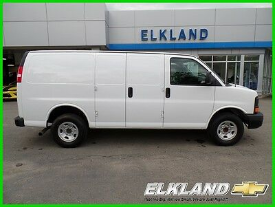 2016 Chevrolet Express Only 13000 miles! $357 a month White Cargo Van V8 13000 miles GM Certified Warranty Cargo Van Power Windows & Locks V8 not 2015