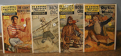 Lot Of  17  Issues Of Classics Illistrated