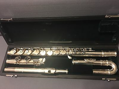 Pearl alto flute - PFA-201 - straight and curved headjoints
