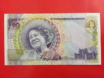 A Royal Bank Of Scotland Queen Mother £20 Note Uncirculated 2000.