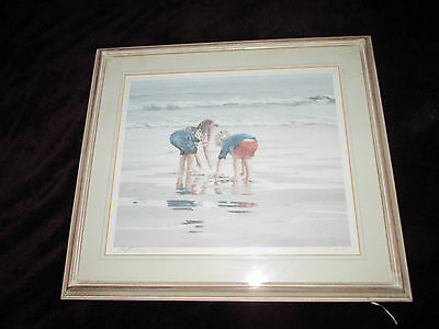 'Reflections' Paul Rupert limited edition print signed titled numbered in pencil