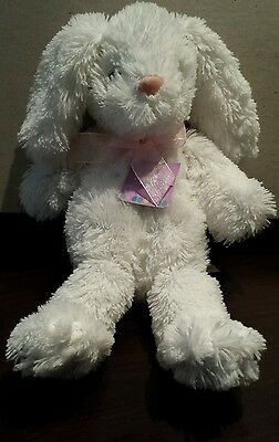 dan dee collectors choice whhite easter rabbit plush toy 2014