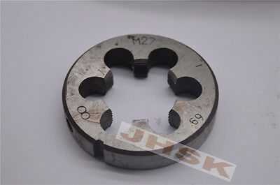 1pcs Metric Right Hand Die M32×1 Dies Threading Tools 32×1mm pitch Fine tooth