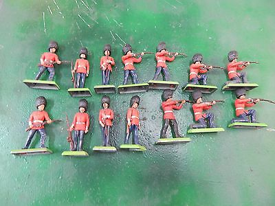 54mm Britains Detail Grenadier Guards Infantry  Toy Soldiers x 14