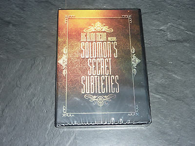 Solomon's Secret Subtleties - Magic DVD by David Solomon and Big Blind Media