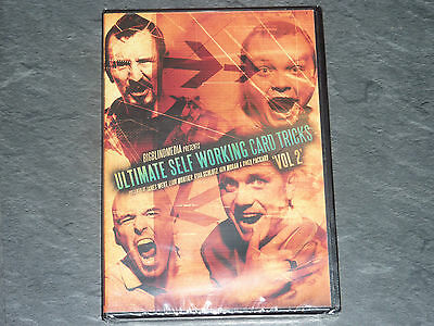 Ultimate Self Working Card Tricks Volume 2 DVD by Big Blind Media - Magic DVD