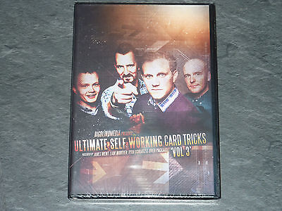 Ultimate Self Working Card Tricks Volume 3 DVD by Big Blind Media - Magic DVD