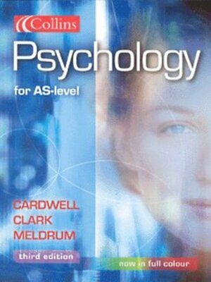 Psychology for AS-level by Mike Cardwell (Paperback)
