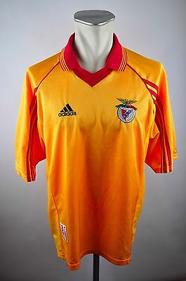 Benfica Lisbon Trikot 1998-99 Size L without Sponsor Adidas 90s oldschool