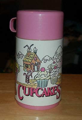 VTG New Aladdin Thermal Insulated Thermos Cupcakes Hot/Cold 1991 Tonka Corp.
