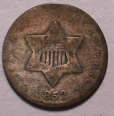 1852 3Cent Silver