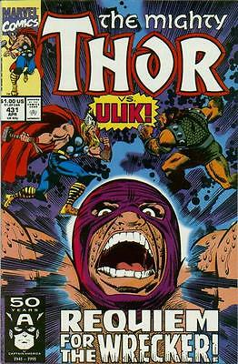 Thor #431 (Apr 1991, Marvel) VF COMIC BOOK   BARCODE EDITION