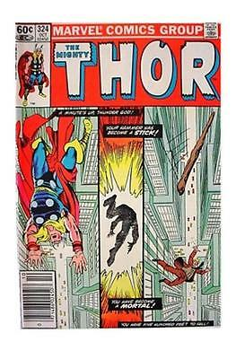 Thor #324 (Oct 1982, Marvel) FN COMIC BOOK