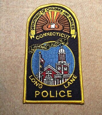 CT Connecticut State Department of Children and Families Police Patch