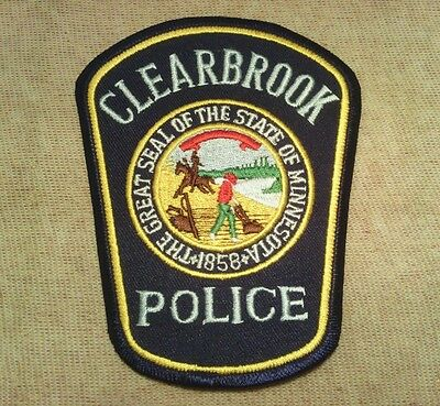 MN Clearbrook Minnesota Police Patch