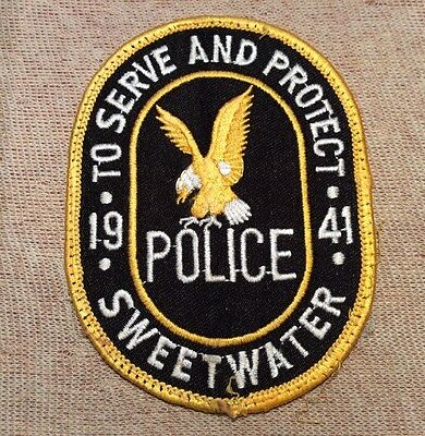 FL Sweetwater Florida Police Patch