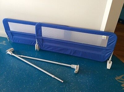 Children's bed safety guards