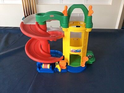 Fisher price car track