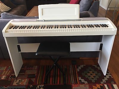 Korg SP-170S digital piano with stand and stool
