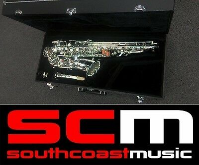 BLESSING BAS 565 SILVER ALTO SAXOPHONE with SAX HARD CASE