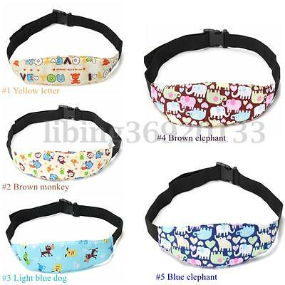 Safety Baby Kids Stroller Car Seat Sleep Nap Aid Head Support Holder Belt Band