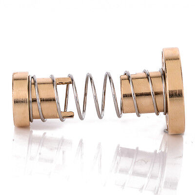 New Brass T8 Anti-Backlash Spring Loaded Nut Set For 8Mm Threaded Rod Lead Screw