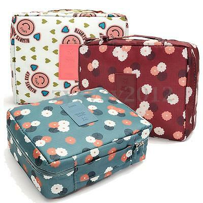 Travel Cosmetic Makeup Bag Wash Toiletries Organizer Case Storage Hanging Pouch