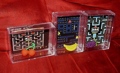 PAC MAN&MS PAC MAN DISPLAY LOT! COOL/UNIQUE GIFTs..YOUR GETTING ALL 3 BRAND NEW