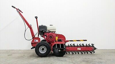 Hoc Dt70 - Honda Gx390 Commercial Trencher + 1 Year Warranty + 25 Inch Depth