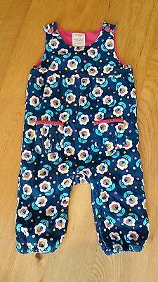 Girls Frugi needlecord dungarees 12-18 months. Excellent condition