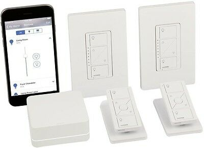 Smart Lighting Dimmer Apple Home Kit In Wall Works all Dimmable Bulbs Electrical
