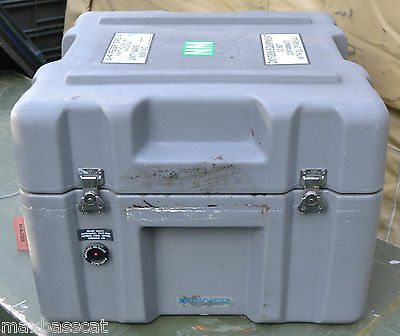 Military Zero Plastics Peli Shipping Case Ideal Expedition / Toolbox / Storage.