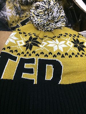 United Bobble Hat Football Warm And Thick Gift