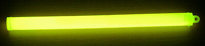 10″ Yellow Cyalume Glow Sticks Army Ideal Camping Hiking Preppers Scouts