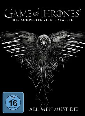 Game of Thrones Staffel 4 NEU OVP 5 DVDs