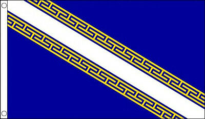 CHAMPAGNE ARDENNE FLAG 5' x 3'  French France Ardennes Regional Province Flags