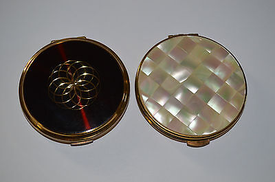 2 Vintage Compacts - Stratton And Kigu Of London