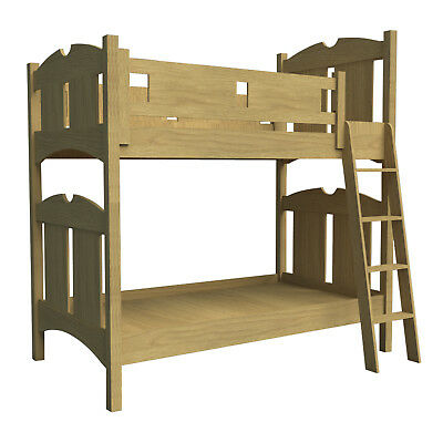 Build your own traditional bunk bed (DIY Plans) Fun to build!!