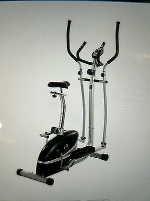 V-fit Magnetic 2 in 1 Cycle and elliptical cross trainer- Get fit for Xmas!