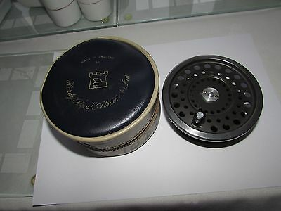 good vintage hardy marquis no. 2 spool for salmon fly fishing reel + case ,.