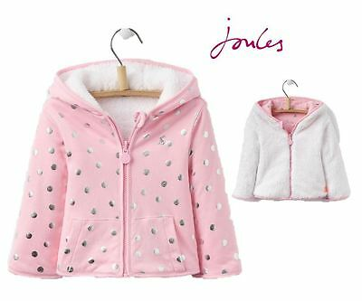Joules Cosette Reversible Girls Sweatshirt