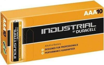 Duracell ID2400-L Industrial AAA Alkaline Batteries (Pack of 10 Cells)