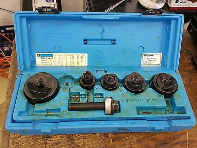 """USED IDEAL KNOCKOUT PUNCH 35-592 INSTALLER KIT """"not complete missing parts"""""""
