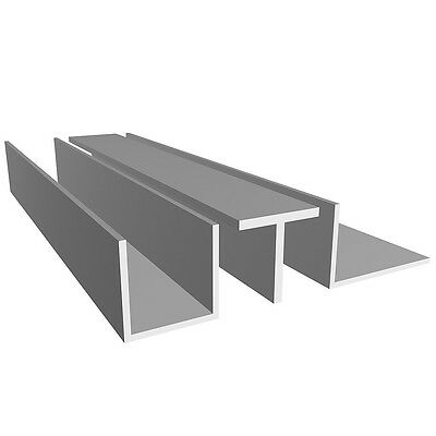 Aluminium Angle/L profile - Various Size- Lenght 2000 mm-FREE CUT SERVICE