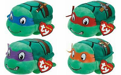 Ty Teeny Teenage Mutant Ninja Turtles Set Of 4 Plush Soft Toys Donatello Raphael