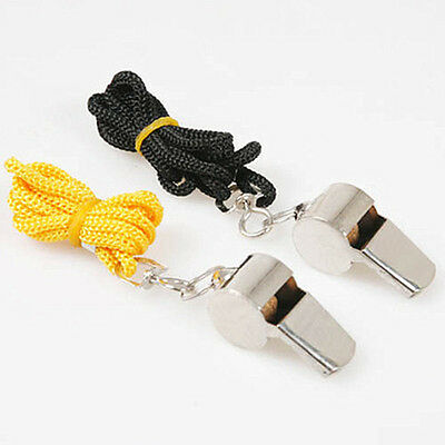 Metal Whistle Referee Sport Rugby Party Training School Soccer Sporting Goods