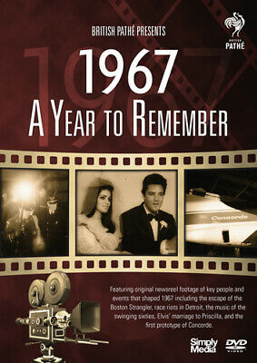 A Year to Remember: 1967 DVD (2017) ***NEW***