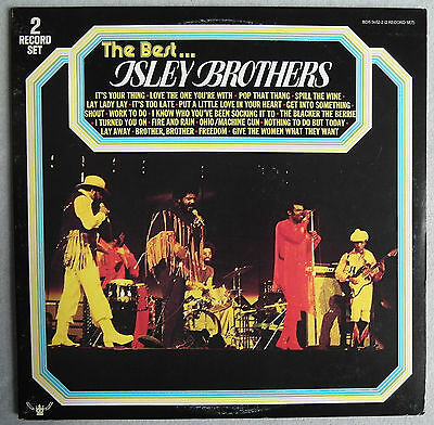 ISLEY BROTHERS - The Best...Isley Brothers  2LP
