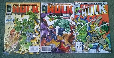 marvel comics - the incredible hulk massive  job lot(19)issues,most are new